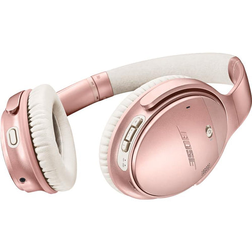 Bose QuietComfort 35 II Wireless Over-Ear Headphones Limited Edition (Rose Gold) - iChameleon