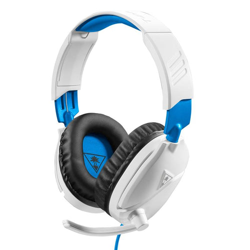 Turtle Beach Recon 70 Gaming Headset for PS4 (White) - iChameleon
