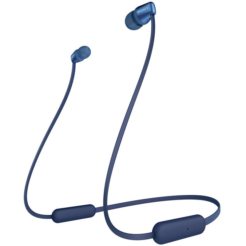 Sony WI-C310 Wireless In-Ear Headphones (Blue) - iChameleon
