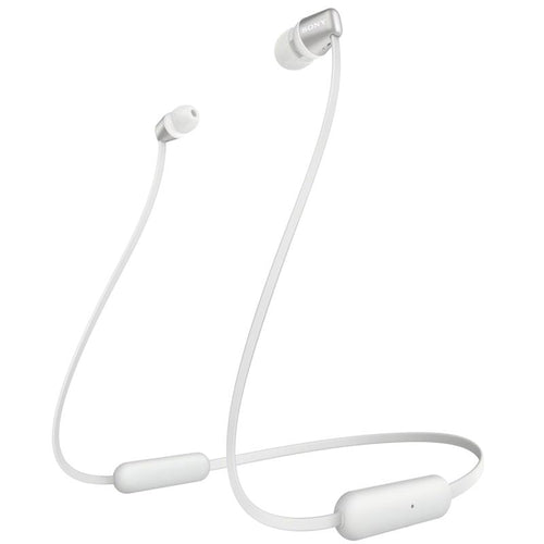 Sony WI-C310 Wireless In-Ear Headphones (White) - iChameleon