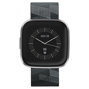 Fitbit Versa 2 Smart Fitness Watch Special Edition (Smoke Woven)