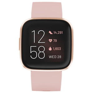 Fitbit Versa 2 Smart Fitness Watch(Petal/Copper Rose)