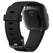 Load image into Gallery viewer, Fitbit Versa 2 Smart Fitness Watch (Black/Carbon)