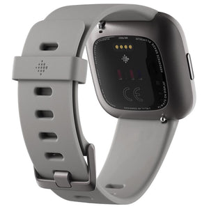 Fitbit Versa 2 Smart Fitness Watch (Stone Mist/Grey)