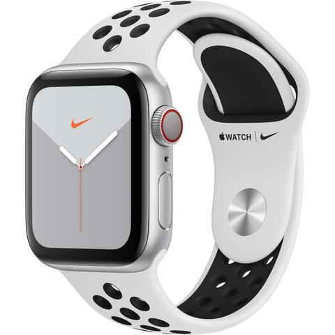 Apple Watch Nike Series 5 (44mm) Silver Aluminium Case [GPS + Cellular]