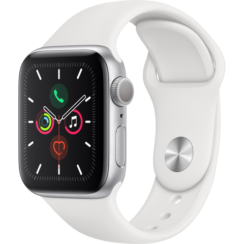 Apple Watch Series 5 (40mm) Silver Aluminum Case [GPS]