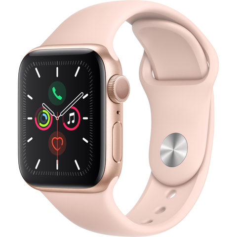 Apple Watch Series 5 (40mm) Gold Aluminum Case [GPS]