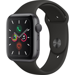 Apple Watch Series 5 (44mm) Space Grey Aluminum Case [GPS]