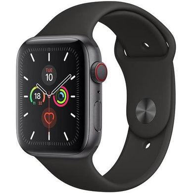 Apple Watch Series 5 (44mm) Space Grey Aluminum Case [GPS + Cellular]