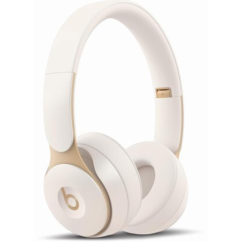 Beats Solo Pro Wireless Noise Cancelling On-Ear Headphones (Ivory)
