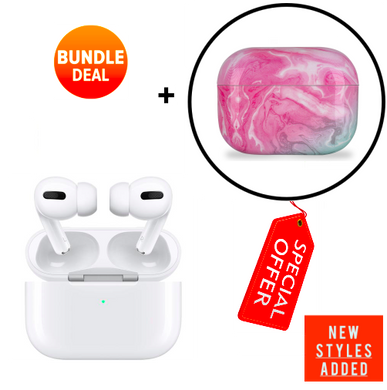Apple AirPods Pro + Protective Case (2019) [Bundle] 2020