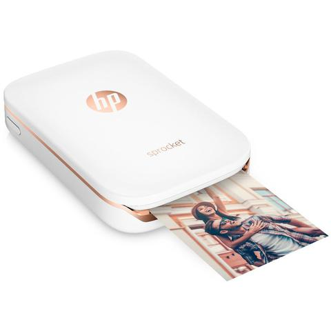 HP Sprocket Pocket Photo Printer (White)