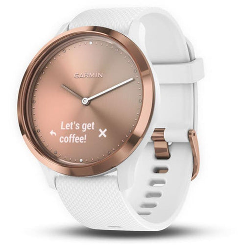 Garmin Vivomove HR Hybrid Watch (Rose Gold Sport) [Small]