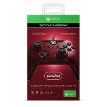 Load image into Gallery viewer, Wired Controller for Xbox One & PC (Red) - iChameleon