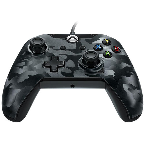 Wired Controller for Xbox One & PC (Black Camo) - iChameleon