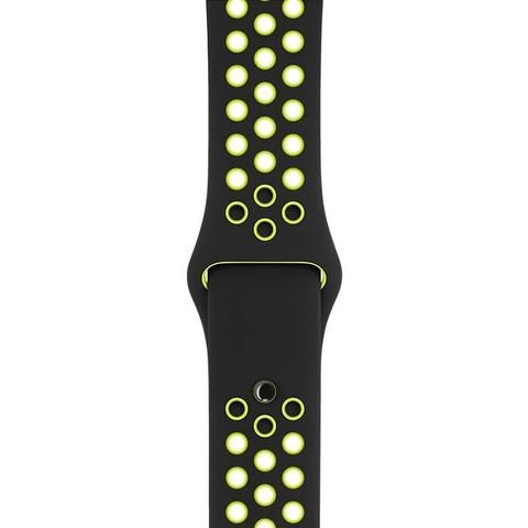 Apple Watch 42mm Nike Sport Band (Black/Volt)