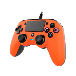 Nacon Wired Compact Controller for PlayStation 4 (Orange) - iChameleon