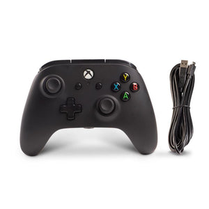 PowerA Enhanced Wired Controller for Xbox One (Black) - iChameleon