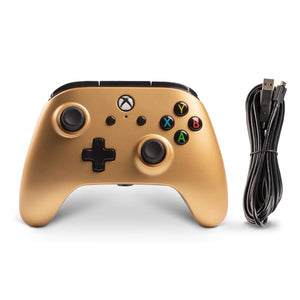 PowerA Enhanced Wired Controller for Xbox One (Gold) - iChameleon