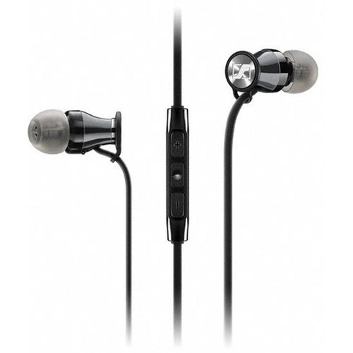 Sennheiser Momentum In-Ear Headphones (Android, Chrome/Black) - iChameleon