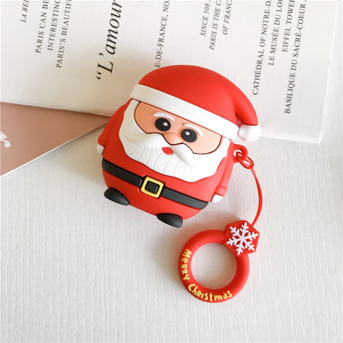 Deluxe Case for Apple AirPods 2/1 (Santa)