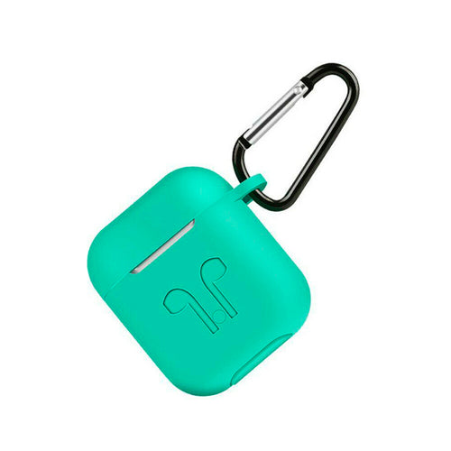 Deluxe Case for Apple AirPods 2/1 (Aqua)