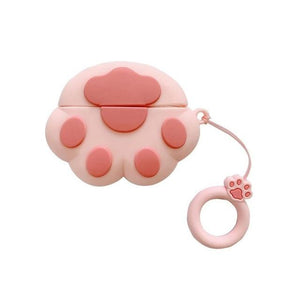 Deluxe Case for Apple AirPods 2/1 (Paw Print)