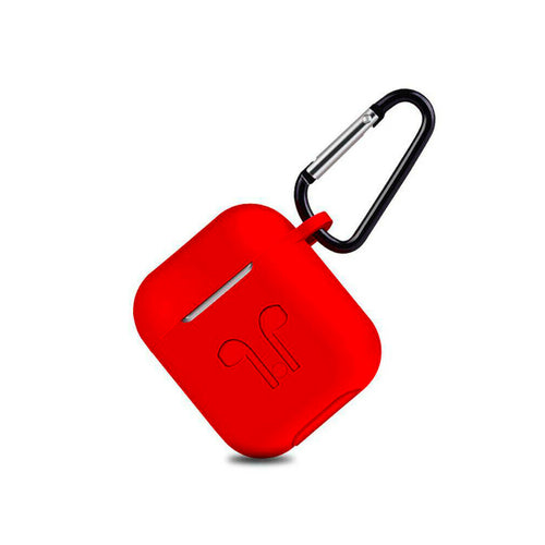 Deluxe Case for Apple AirPods 2/1 (Red)