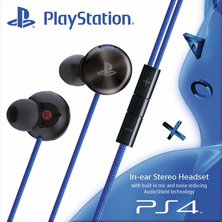 Sony PlayStation PS4 In Ear Headphones - iChameleon