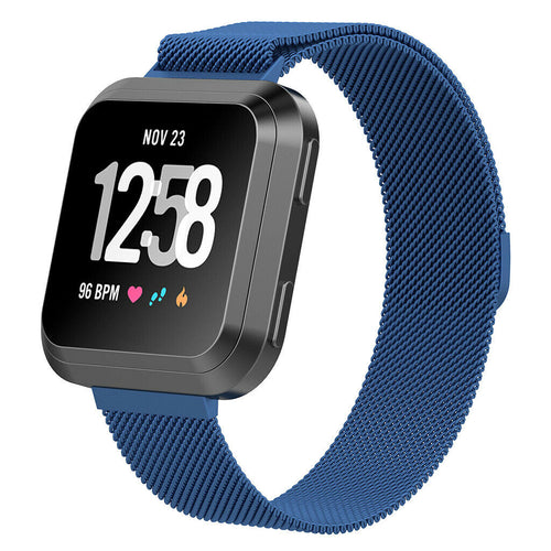 Milanese Style Band For Fitbit Versa 2 (Navy)