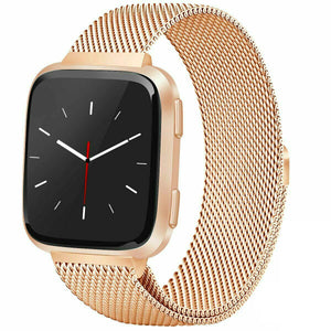 Milanese Style Band For Fitbit Versa 2 (Gold)