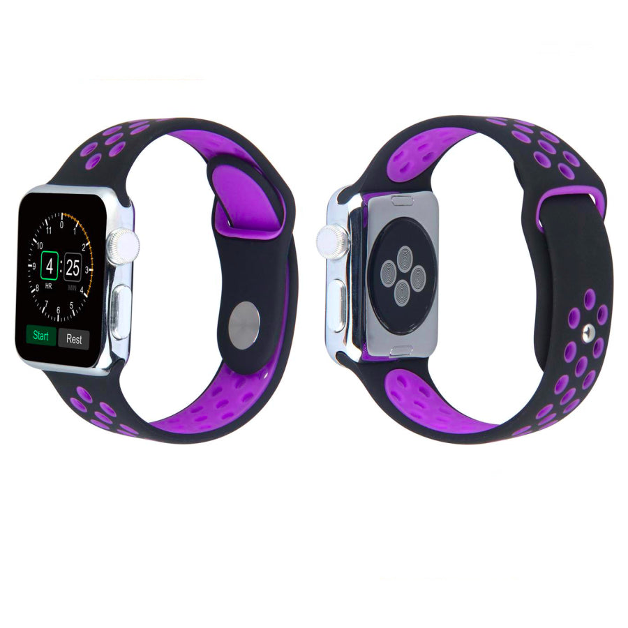Sport Band For Apple Watch Series 4/3/2/1 (Purple) - iChameleon