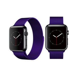Milanese Style Band For Apple Watch Series 4/3/2/1 (Navy) - iChameleon
