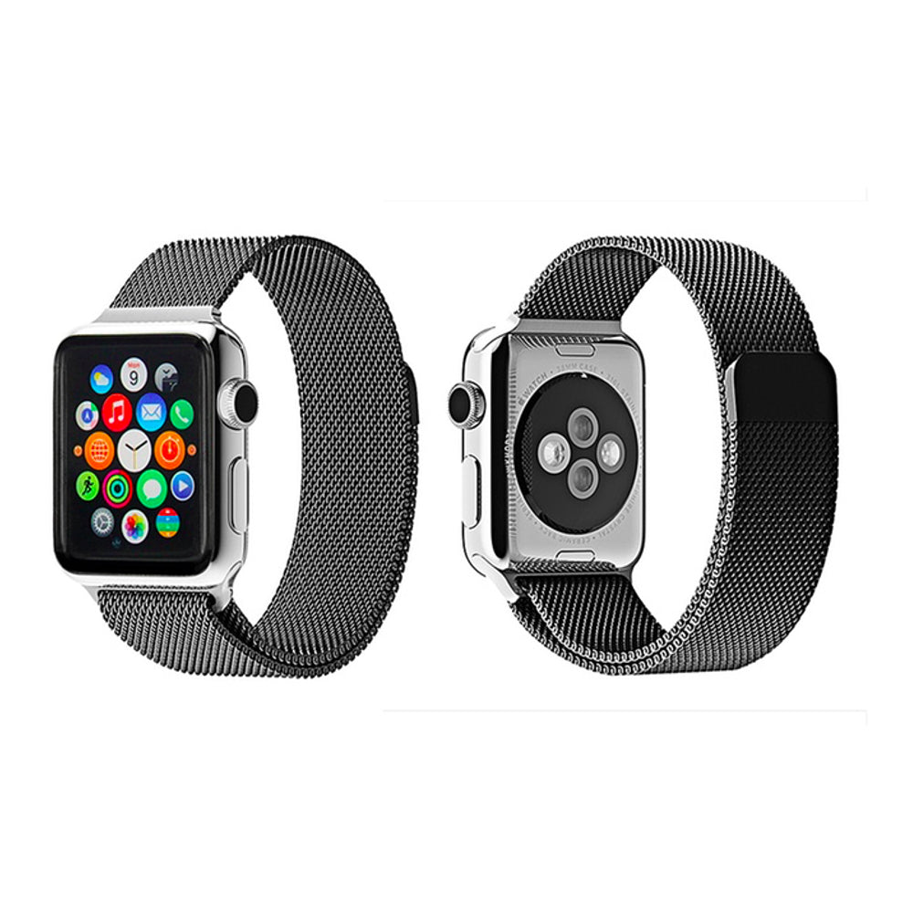 Milanese Style Band For Apple Watch Series 4/3/2/1 (Space Grey) - iChameleon