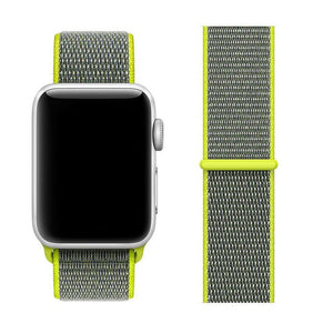 Nylon Sport Loop Band For Apple Watch Series 4/3/2/1 (Flash) - iChameleon