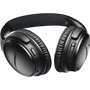 Bose QuietComfort 35 II Wireless Over-Ear Headphones (Black) - iChameleon