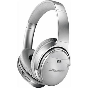 Bose QuietComfort 35 II Wireless Over-Ear Headphones (Silver) - iChameleon