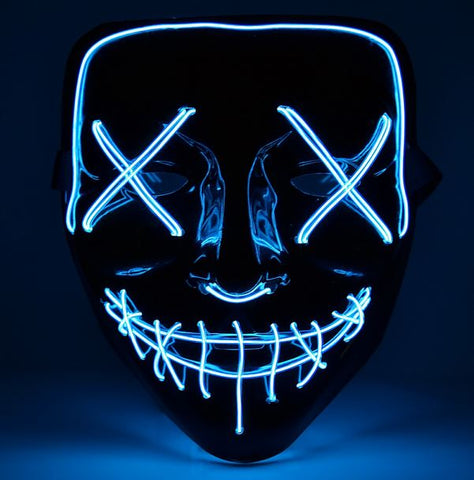 Light Up LED Party Mask