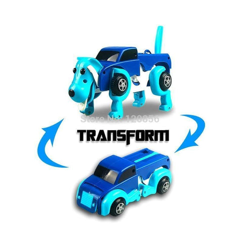 Cool Automatic Dog Transform Car