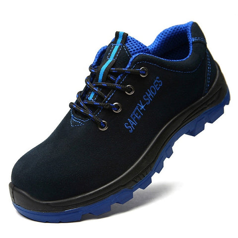 Slip Resistant, Steel Toe, Comfortable Lightweight Safety Shoes for Men.