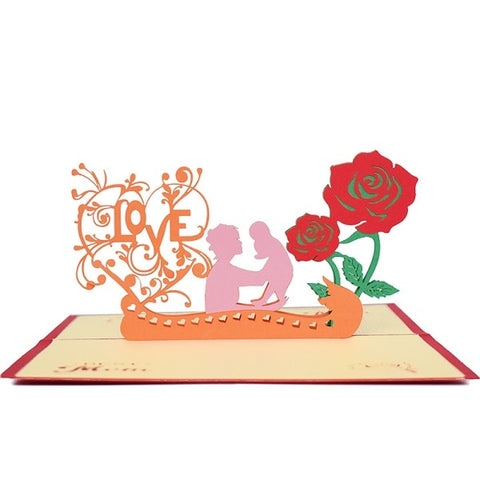 3D Pop Up Mother's Day Gifts Card