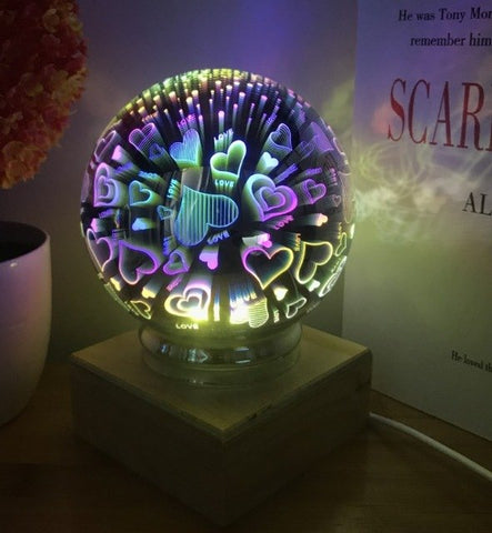 3D USB LED Night Light
