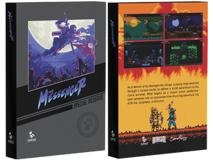 THE MESSENGER - UN-NUMBERED [SWITCH RESERVE] [DISCORD]