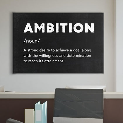 THE DEFINITION OF AMBITION