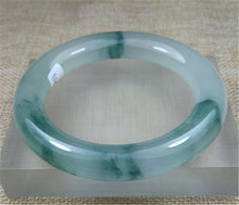Load image into Gallery viewer, Certified Grade A Natural Ice Green Jadeite Jade Bangle (59.3 mm)