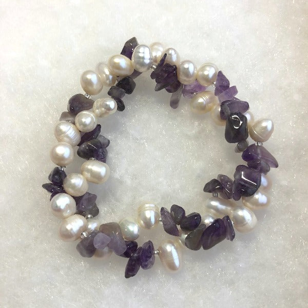 Freshwater Pearls and Gemstone Bracelets