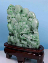 Load image into Gallery viewer, Certified Jadeite (Natural & Untreated) Sculpture Statue - Landscape 7