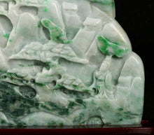 Load image into Gallery viewer, Certified Jadeite (Natural & Untreated) Sculpture Statue - Landscape 1