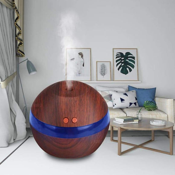 Elegant design Ultrasonic Humidifier with Blue LED Light - Stylish-Accessories