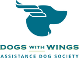 Dogs With Wings Assistance Dog Society logo
